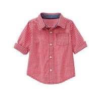 孩子检查衬衫 制造商